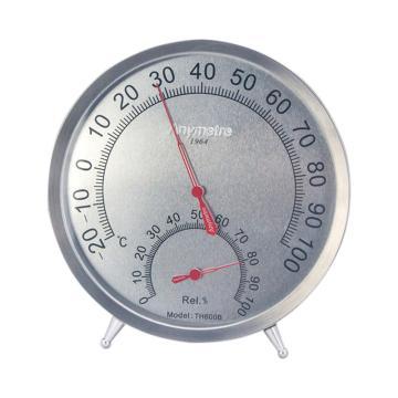 美德时 不锈钢温湿度计,TH600B