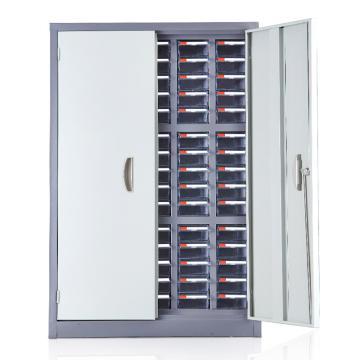盛悦欣美 零件柜,75抽透明带门,尺寸(长×宽×高):680×280×990mm