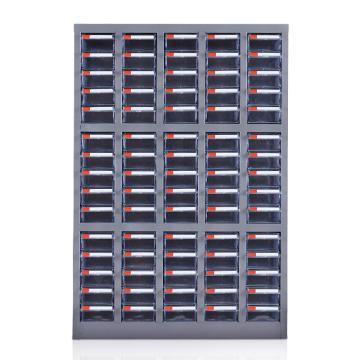 盛悦欣美 零件柜,75抽透明无门,尺寸(长×宽×高):650×220×940mm