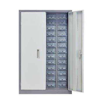 盛悦欣美 零件柜,52抽铁抽带门,尺寸(长×宽×高):760×360×1160mm