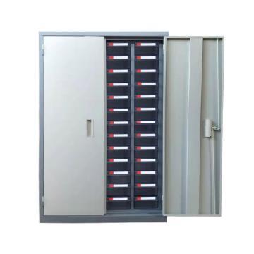 盛悦欣美 零件柜,52抽透明带门,尺寸(长×宽×高):760×360×1160mm