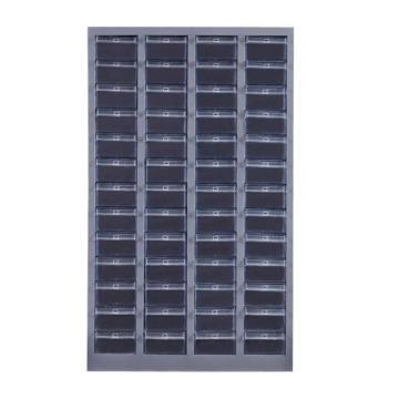 盛悦欣美 零件柜,52抽透明无门,尺寸(长×宽×高):710×300×1140mm
