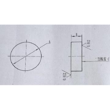 晶盛 0级平晶,φ200*40mm,JB/T 57127-1999