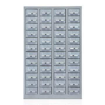 盛悦欣美 零件柜,48抽铁抽无门,尺寸(长×宽×高):600×220×940mm