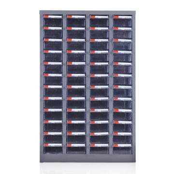 盛悦欣美 零件柜,48抽透明无门,尺寸(长×宽×高):600×220×940mm