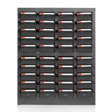 盛悦欣美 零件柜,40抽ESD无门,尺寸(长×宽×高):525×220×650mm