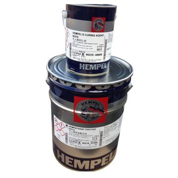 海虹老人 聚氨酯面漆,55210,国标PB11孔雀蓝,17.5L主漆+2.5L固化剂,20L/组