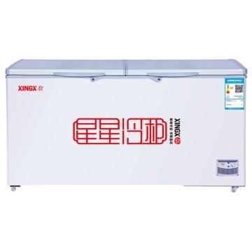 星星商用卧式双门单温冰柜,BD/BC-406E,406L