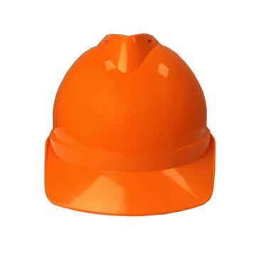 Raxwell Victor安全帽,橘黄色,耐低温电绝缘阻燃,8点式锁扣,ABS,RW5104