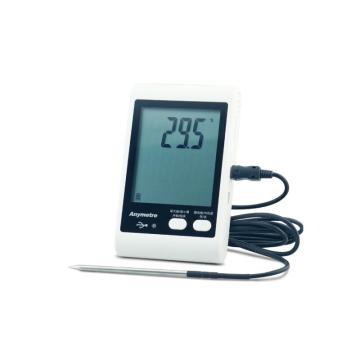 美德时/Anymetre 温湿度记录仪,TH10E 冷链库房 药店 档案室