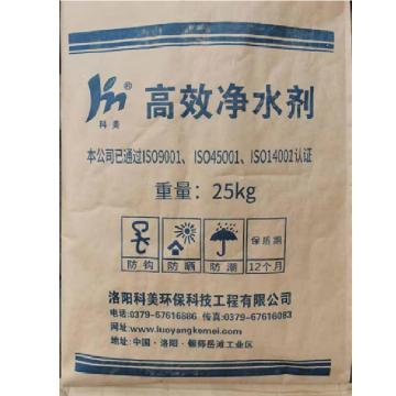 科美 高效净水剂,KM-102,25kg/袋