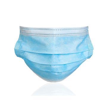 舒朗 一次性使用医用口罩(非无菌),FH20KZK02 17.5cm×9.5cm 挂耳式 蓝色