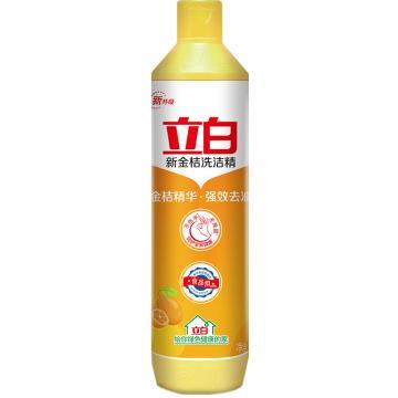 立白 洗洁精,新金桔500g 单位:瓶
