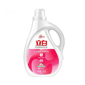立白 洗衣液,全效馨香1kg 单位:瓶