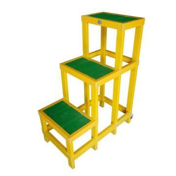 金能电力 绝缘高低凳,高1.5m,玻璃钢材质
