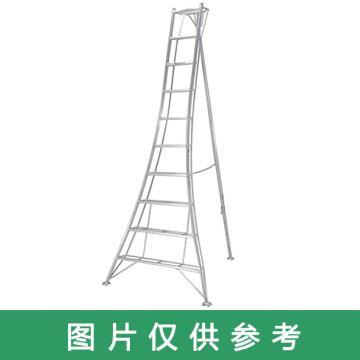 PICA 三脚梯子 园艺三脚 MAX 100kg 梯子垂高:1.16m 有效高:0.58m 重量:4.0kg,GMK-120A