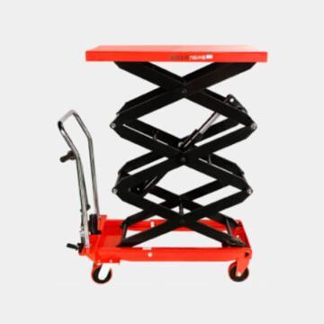力拓中用 三剪手动升降平台车, 台面尺寸:90*50*5cm,最低高度:37cm,升高:200cm,型号:TF50S