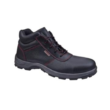 京澜 牛皮高帮安全鞋,防砸、防滑、防刺穿、绝缘18kv,35-46
