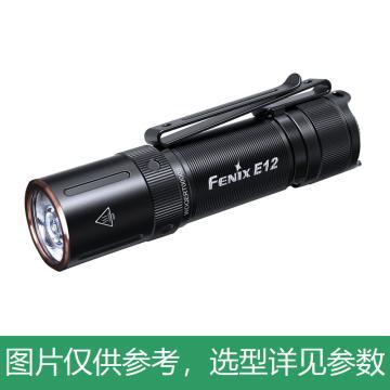 Fenix 迷你强光手电筒,E12(升级为E12 V2.0) 含5号干电池,新老款随机发货,单位:个