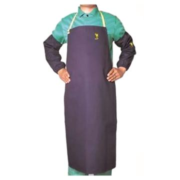 威特仕 焊接围裙,33-8042,雄蜂王海军蓝护胸围裙 107cm长