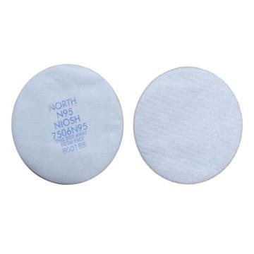 霍尼韦尔Honeywell 滤棉,7506N95,N95 防无油粉尘滤棉,25片/包