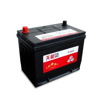 天能 汽车蓄电池汽车电池卡车电池,五星80D26L(不含安装)