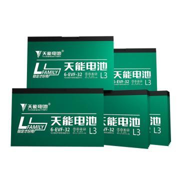 天能 电动车电池电瓶车电池铅酸电池两轮车电池,L3系列60v32ah(5只/箱)(不含安装)