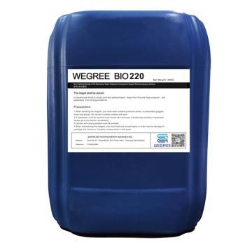 威格瑞 非氧化性杀菌剂,WEGREE BIO220,25KG/桶