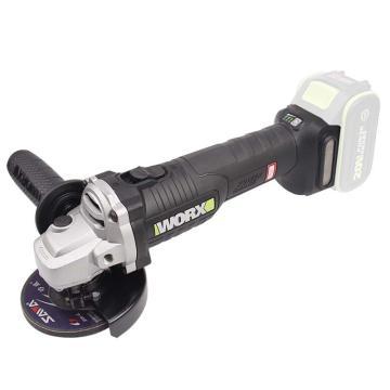 威克士 无刷充电式角磨机,100mm,20V,裸机不含充电器和电池,WU808.9