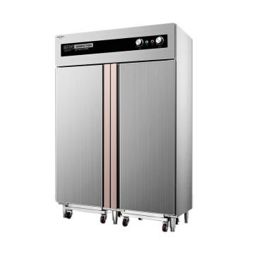 德玛仕 商用消毒柜,双开门高温热风循环二星级,XDR910F-2A推车款