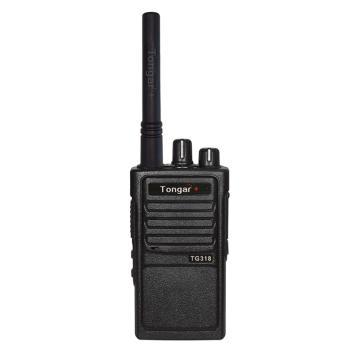 通加 TG318便携数字对讲机,黑色,单位:台(如需调频请提前告知)
