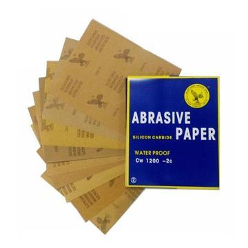 鹰牌耐水砂纸,碳化硅,100目,100张/包
