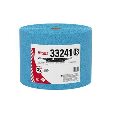 金佰利擦拭布,金特强力吸油擦拭布33241A,大卷式 717张/箱 单位:箱