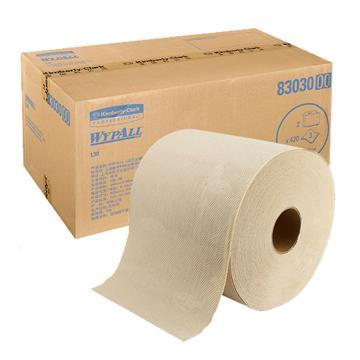 金佰利擦拭纸,劲试工业擦拭纸83030,L30大卷式 420张/卷 2卷/箱 单位:箱