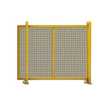 西域推荐 隔离网对开门,孔径5*5铁丝网,钢丝粗度3.8MM,高1.5m*宽2m,单扇门