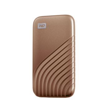 西部数据(WD)2TB Type-C固态移动硬盘(PSSD) My Passport随行SSD版 繁星金