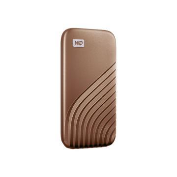 西部数据(WD)500GB Type-C固态移动硬盘(PSSD) My Passport随行SSD版 繁星金