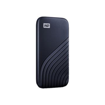 西部数据(WD)500GB Type-C固态移动硬盘(PSSD) My Passport随行SSD版 宇宙蓝