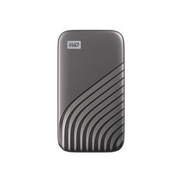 西部数据(WD)500GB Type-C固态移动硬盘(PSSD) My Passport随行SSD版 深空灰