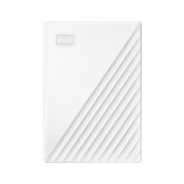 西部数据(WD)2TB USB3.0移动硬盘My Passport随行版 2.5英寸 白色