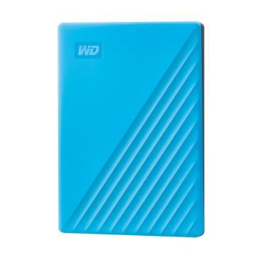 西部数据(WD)4TB USB3.0移动硬盘My Passport随行版 2.5英寸 蓝色