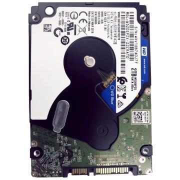 西部数据(WD)蓝盘 2TB SATA6Gb/s 5400转128M 笔记本硬盘(WD20SPZX)