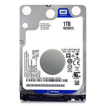 西部数据(WD)蓝盘 1TB 5400转128M SATA6Gb/s 笔记本硬盘(WD10SPZX)