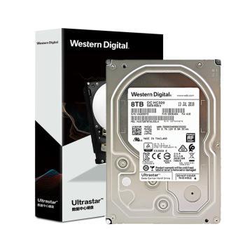 西部数据(Western Digital)8TB HC320 SATA6Gb/s 7200转256M 企业级硬盘(HUS728T8TALE6L4)