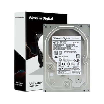 西部数据(Western Digital) 6TB SATA6Gb/s 7200转256M 企业级硬盘(HUS726T6TALE6L4)