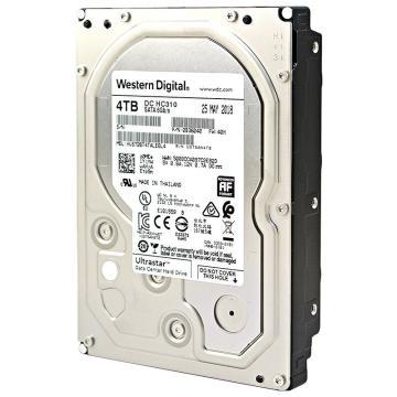 西部数据(Western Digital) 机械硬盘 4TB SATA6Gb/s 7200转256M 企业级空气硬盘(HUS726T4TALE6L4)