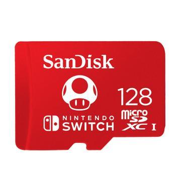 闪迪 (SanDisk) TF内存128G卡 Switch游戏机内存储卡通用