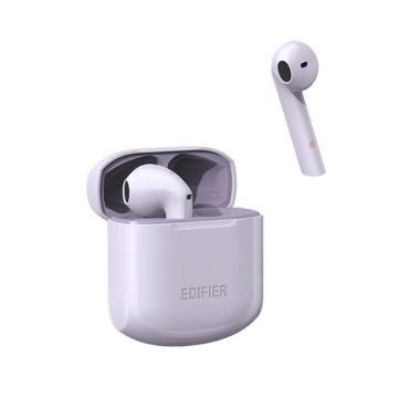 漫步者 LolliPods冇心版 真无线蓝牙耳机 半入耳式耳机通用苹果安卓手机 冇心版紫