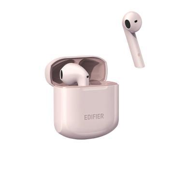漫步者 LolliPods冇心版 真无线蓝牙耳机 半入耳式耳机通用苹果安卓手机 冇心版粉