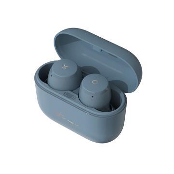 漫步者 MiniBuds 真无线蓝牙耳机 音乐耳机 迷你运动耳机 手机耳机 通用苹果安卓手机 雾霾蓝